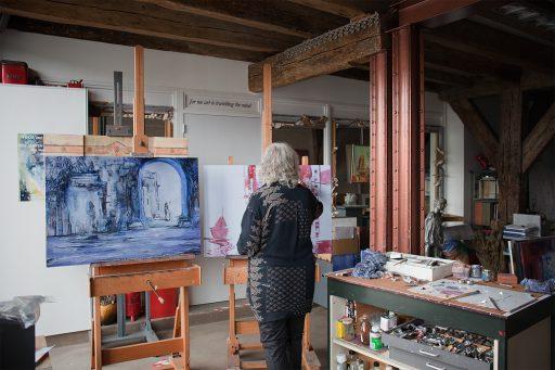 Afbeelding #001 voor het verhaal Open Monumentendag 2019: op bezoek bij Toos van Holstein