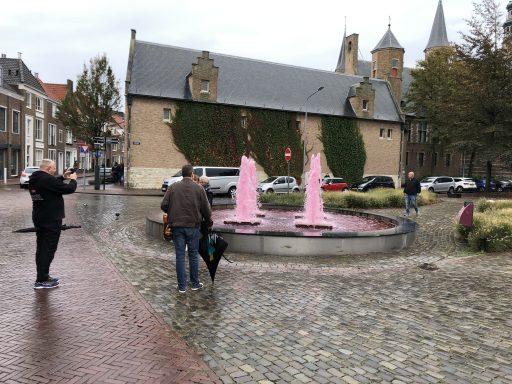 Afbeelding #000 voor het verhaal Balansfontein Middelburg kleurt weer roze