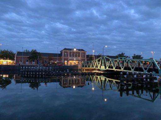 Afbeelding #002 voor het verhaal De nieuwe verlichting van de Stationsbrug in Middelburg