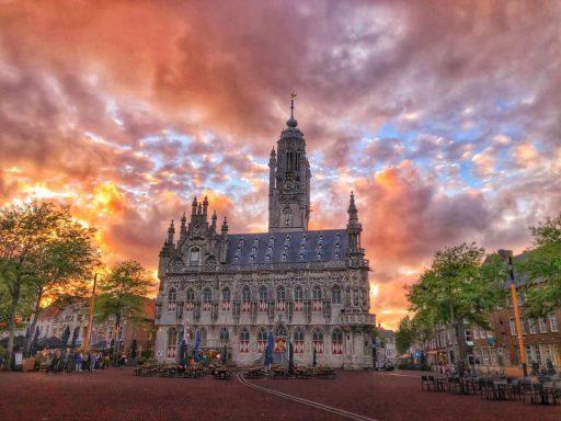 Afbeelding #001 voor het verhaal Een maand vol contrasten: Middelburg op Instagram, augustus 2020