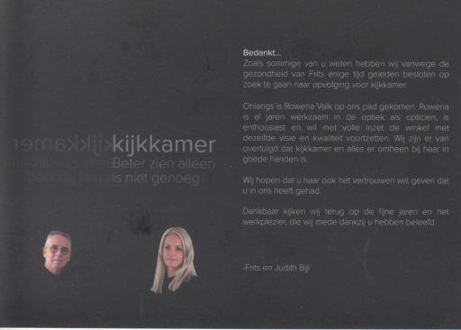 Afbeelding #000 voor het verhaal Een nieuwe eigenaar voor Kijkkamer Middelburg