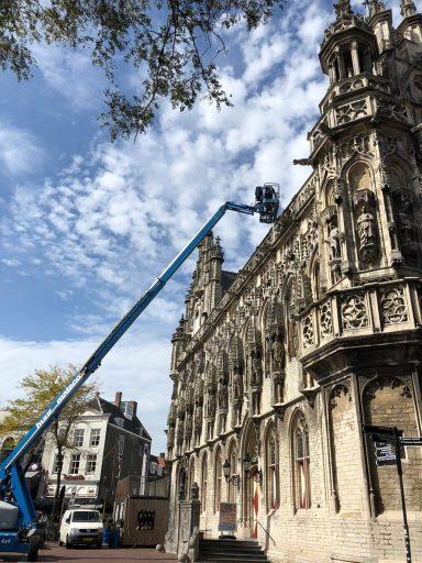 Afbeelding #001 voor het verhaal Een scherm op en om het Stadhuis van Middelburg