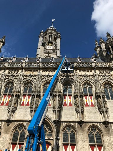 Afbeelding #002 voor het verhaal Een scherm op en om het Stadhuis van Middelburg