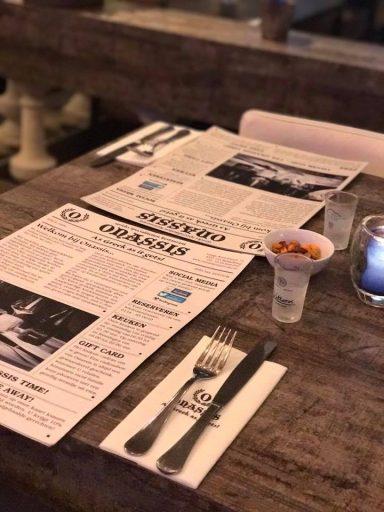 Afbeelding #000 voor het profiel van Grieks restaurant Onassis