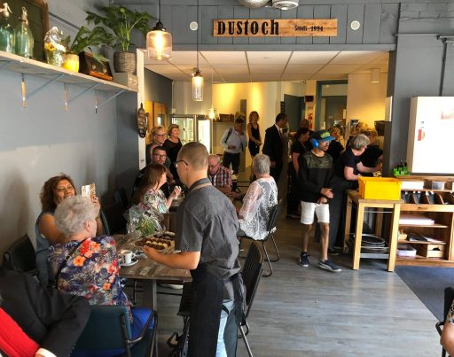 Afbeelding #000 voor het verhaal Petitie: Lunchroom Dustoch moet blijven