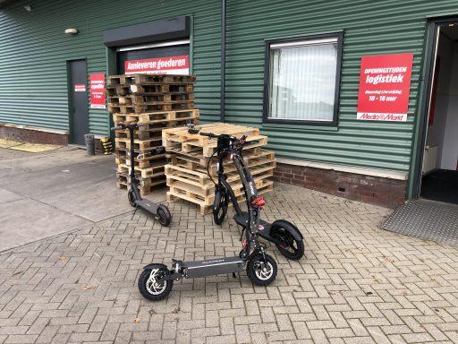 Afbeelding #005 voor het verhaal Proefrit: drie e-steps van Mediamarkt Middelburg