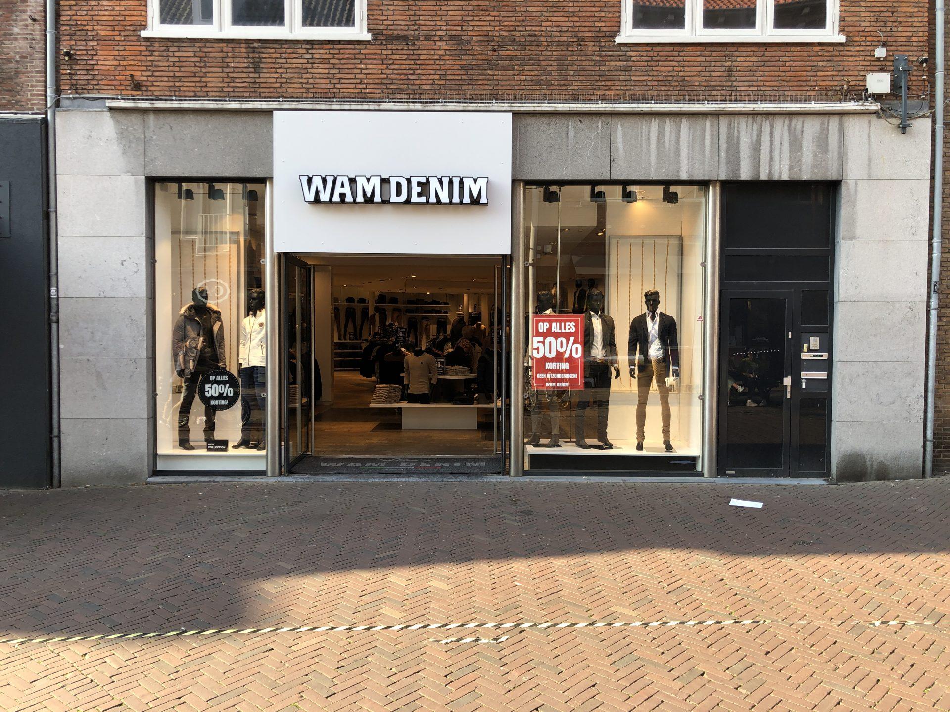 Afbeelding #000 voor het verhaal Wam Denim geopend in de Lange Delft in Middelburg