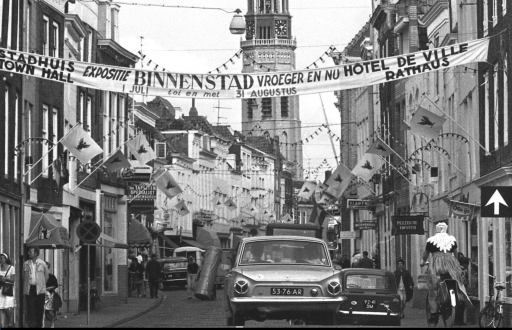 Afbeelding #000 voor het verhaal Wandelen door de Langeviele in Middelburg, 1970-1988