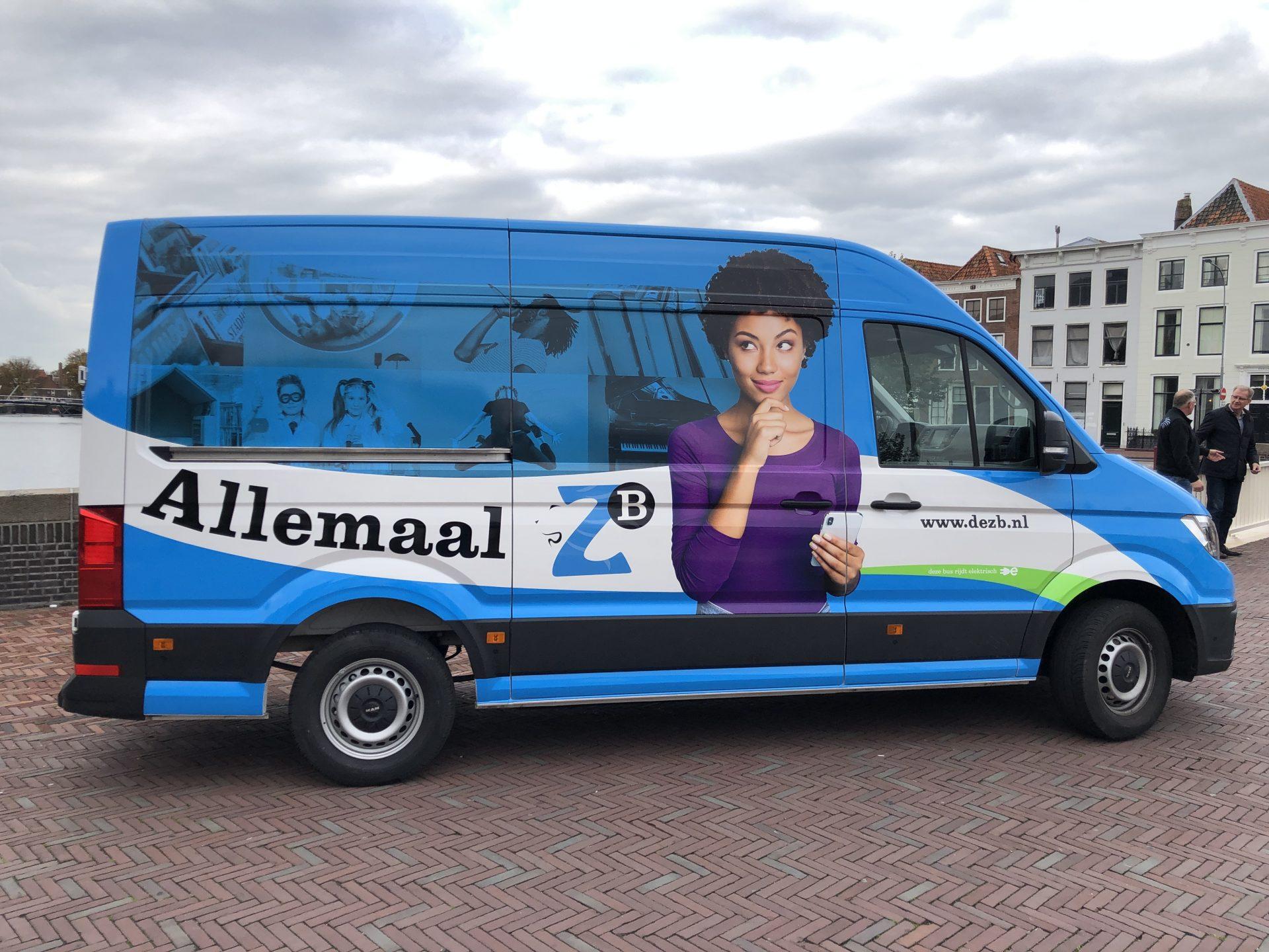 Afbeelding #007 voor het verhaal ZB Middelburg onthult eerste elektrische bus in Zeeland