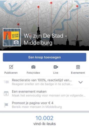 Afbeelding #000 voor het verhaal 10.000 likes voor Wij zijn De Stad op Facebook!