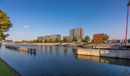 Afbeelding #000 voor het verhaal 123 nieuwe woningen voor studenten, aan de Kanaalweg in Middelburg