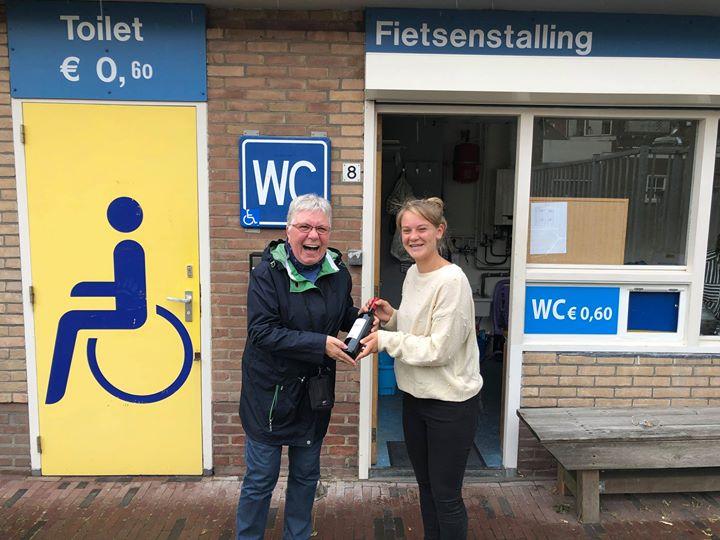 Afbeelding #000 voor het verhaal 20.000e transactie fietsenstalling Zusterplein