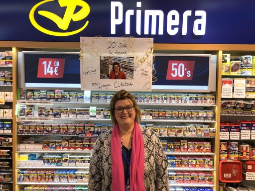 Afbeelding #000 voor het verhaal 20 jaar in dienst bij Primera Burger
