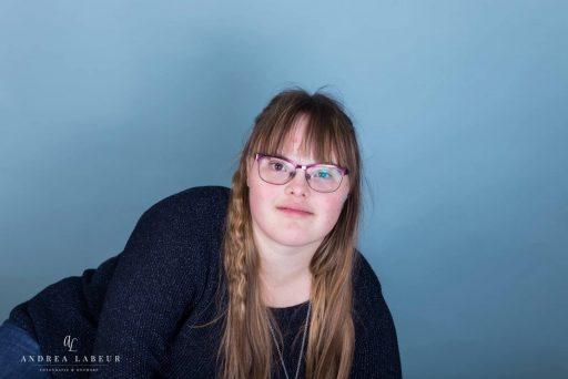 Afbeelding #000 voor het verhaal 21 maart: gratis fotoshoots voor mensen met het syndroom van Down