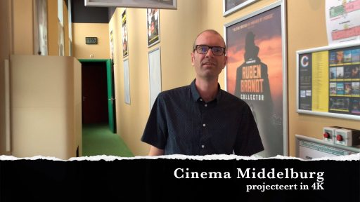 Afbeelding #000 voor het verhaal 4K! Een nieuwe projector voor Cinema Middelburg