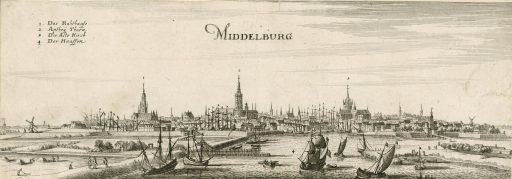Afbeelding #003 voor het verhaal Gezicht op Middelburg, of: hoe waarheidsgetrouw is een schilderij uit 1550 eigenlijk?