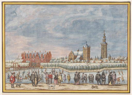 Afbeelding #004 voor het verhaal Gezicht op Middelburg, of: hoe waarheidsgetrouw is een schilderij uit 1550 eigenlijk?