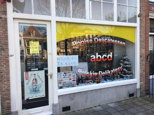 Afbeelding #000 voor het verhaal ABCD (Poolse delicatessen) op het Damplein staat te koop
