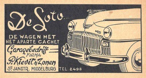 Afbeelding #000 voor het verhaal Advertenties van Middelburgse middenstanders van weleer