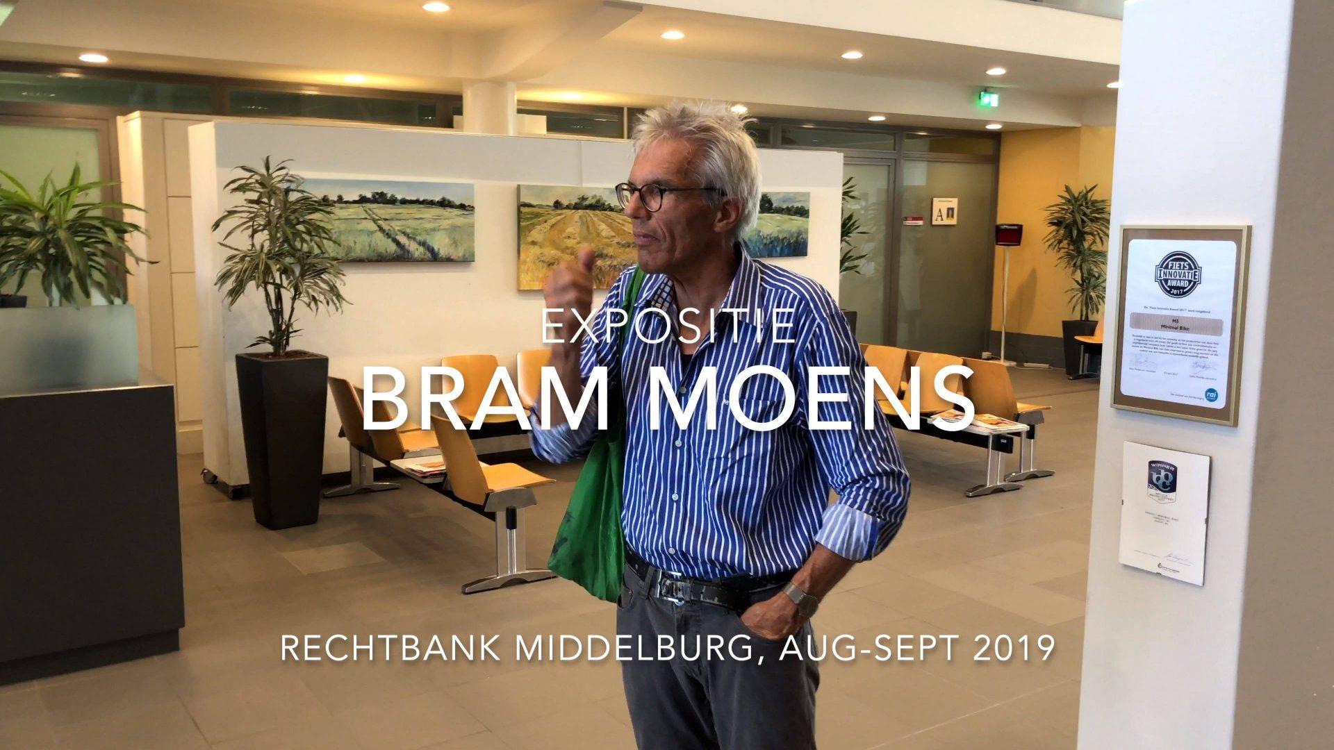 Afbeelding #000 voor het verhaal Anders kijken! Bram Moens exposeert in Rechtbank Middelburg