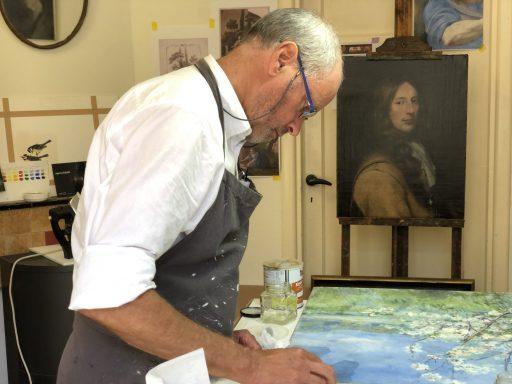 Afbeelding #000 voor het verhaal Atelier Lutz: schilderijrestauratie in de Sint Pieterstraat in Middelburg
