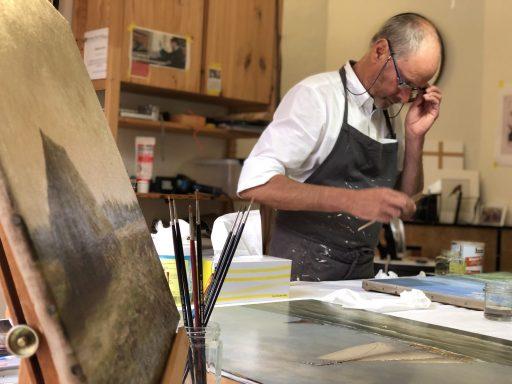Afbeelding #003 voor het verhaal Atelier Lutz: schilderijrestauratie in de Sint Pieterstraat in Middelburg