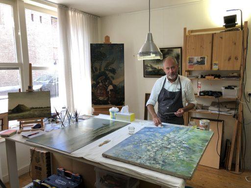 Afbeelding #004 voor het verhaal Atelier Lutz: schilderijrestauratie in de Sint Pieterstraat in Middelburg