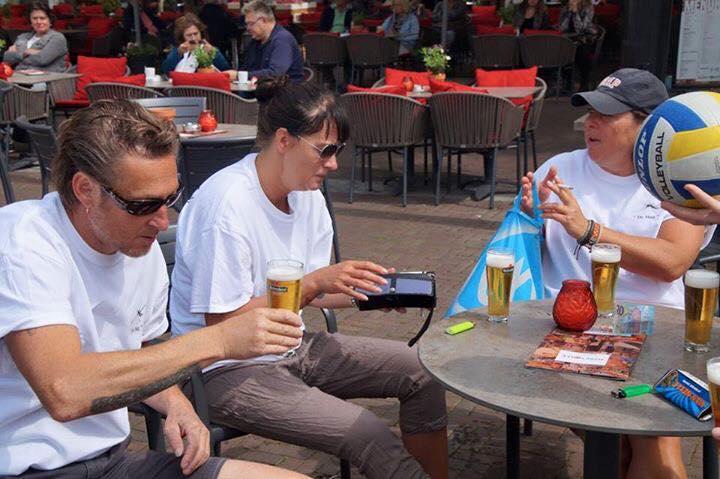 Afbeelding #000 voor het verhaal Beachvolleybal Markt Middelburg 19 juni 2016