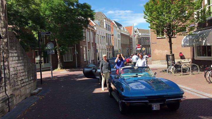 Afbeelding #000 voor het verhaal Belgische Corvettes bezoeken Middelburg
