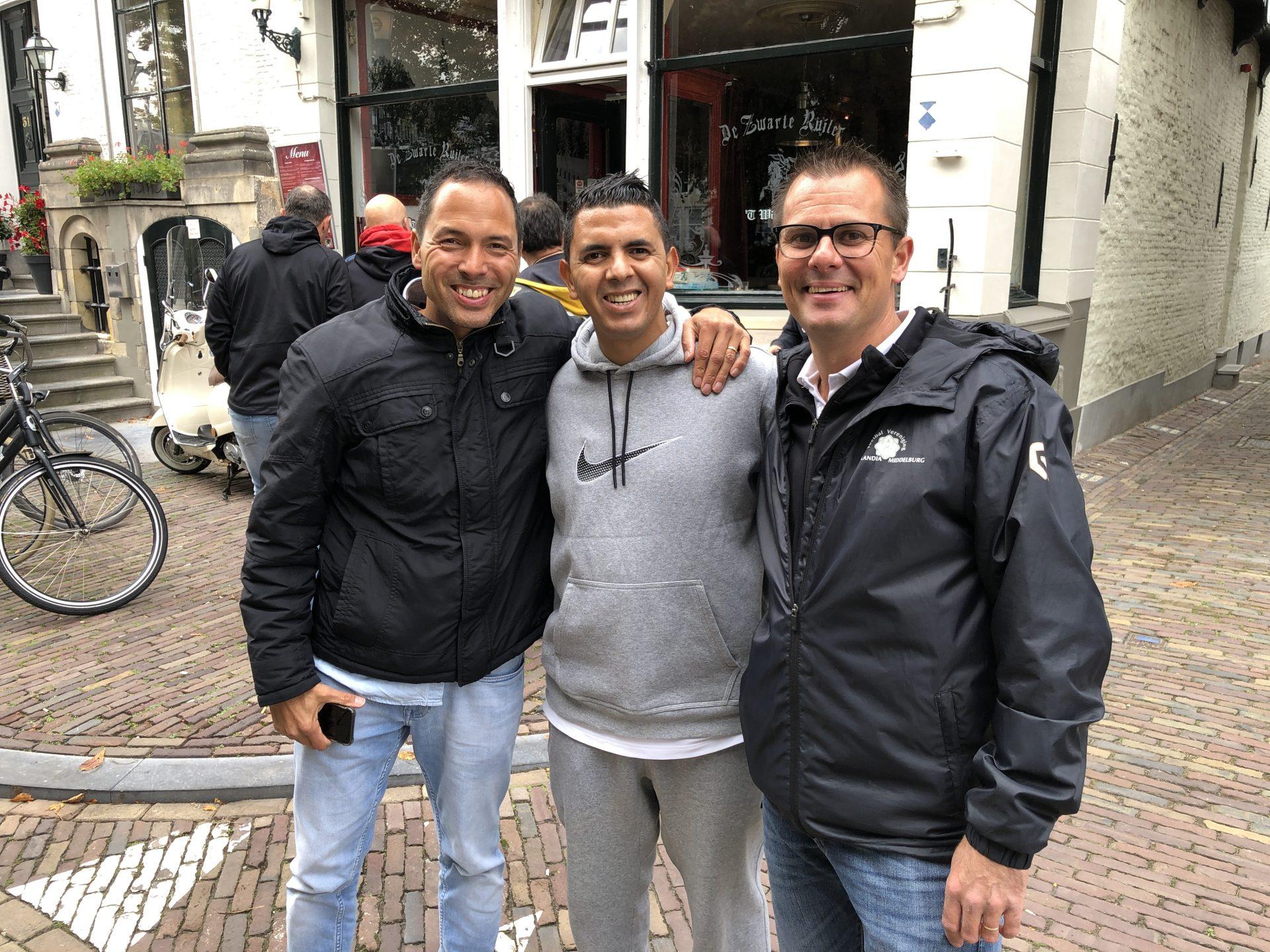 Afbeelding #000 voor het verhaal Bienvenido! Madrileense voetballers op bezoek in Middelburg