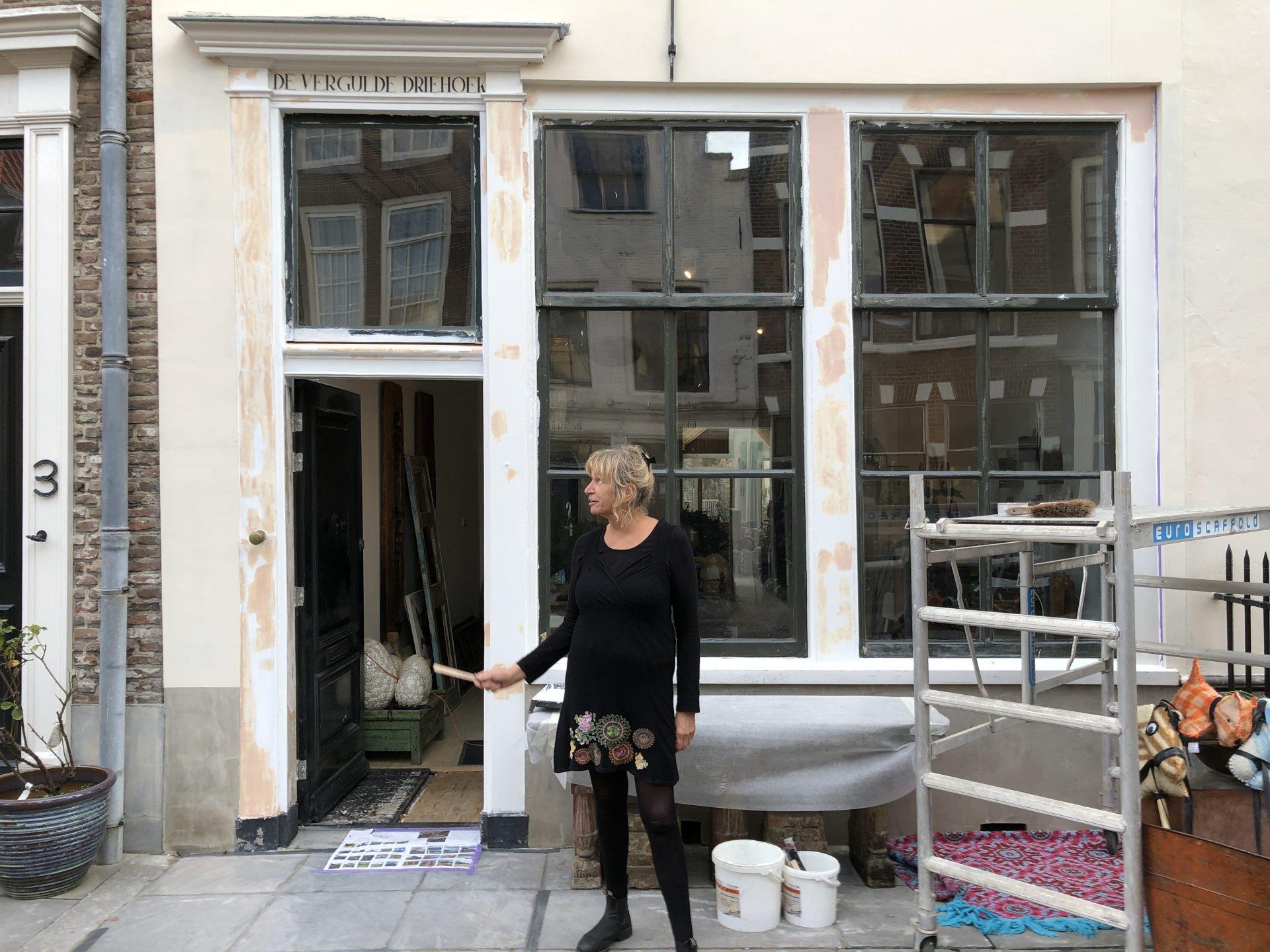 Afbeelding #001 voor het verhaal Binnenkort open in de Vlissingsestraat: B&B en interieurwinkel De Vergulde Driehoek