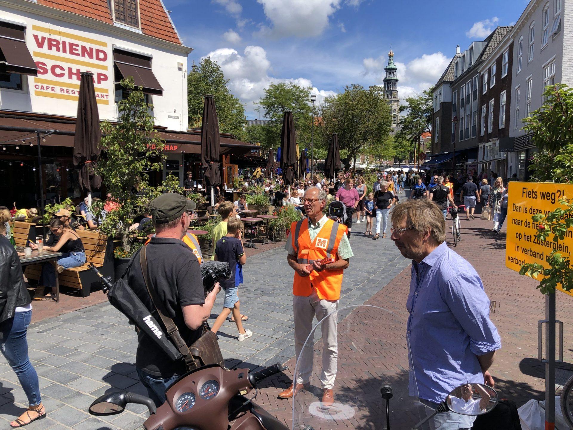 Afbeelding #000 voor het verhaal Binnenstadsteams op pad in Middelburg