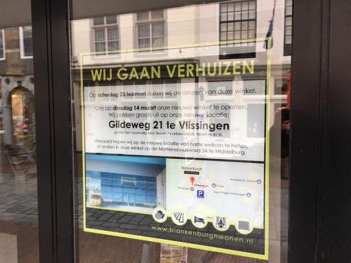 Afbeelding #000 voor het verhaal Blankenburgh Wonen verhuist van Langeviele naar Vlissingen