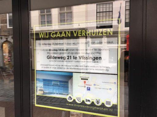 Afbeelding #001 voor het verhaal Blankenburgh Wonen verhuist van Langeviele naar Vlissingen