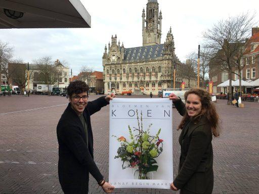 Afbeelding #000 voor het verhaal Bloemen van Koen opent begin maart in de Kiosk op de Markt