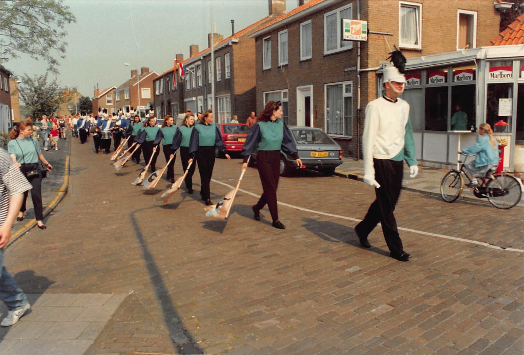 Afbeelding #000 voor het verhaal Blue Spirit Middelburg, 1982-1998