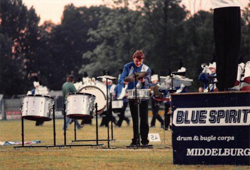 Afbeelding #002 voor het verhaal Blue Spirit Middelburg, 1982-1998