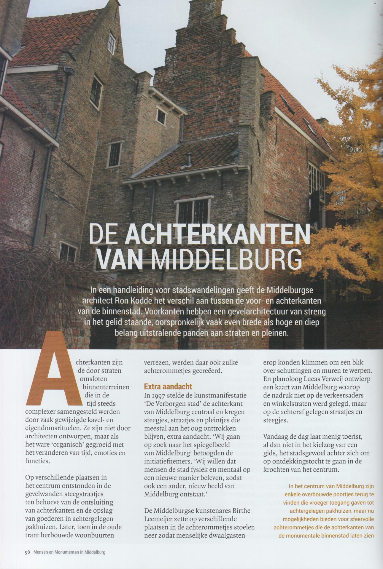Afbeelding #001 voor het verhaal Boek: Mensen en Monumenten in Middelburg - Jacques Cats