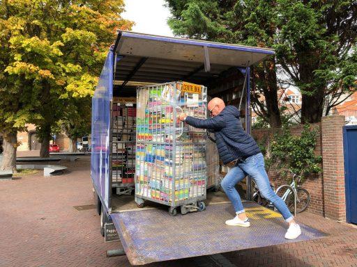 Afbeelding #000 voor het verhaal Boekenfestijn! Een nieuwe, tijdelijke winkel in de Lange Delft