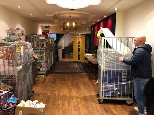Afbeelding #004 voor het verhaal Boekenfestijn! Een nieuwe, tijdelijke winkel in de Lange Delft