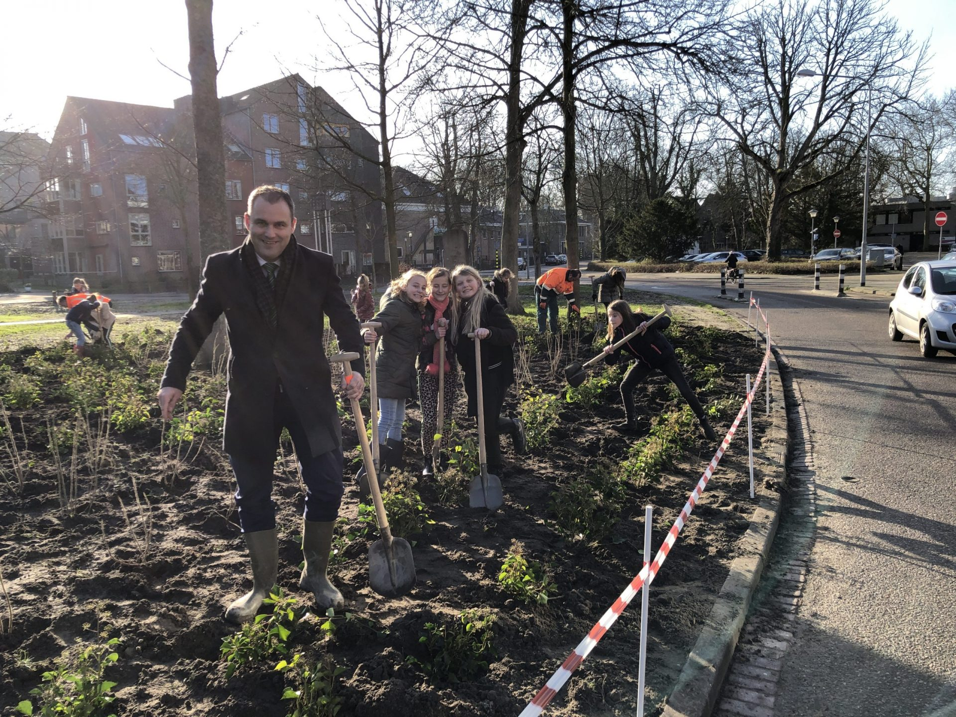 Afbeelding #000 voor het verhaal Boomplantmoment Park Molenwater met de ABS in Middelburg