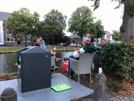 Afbeelding #000 voor het verhaal Borrelen aan de Middelburgse grachten