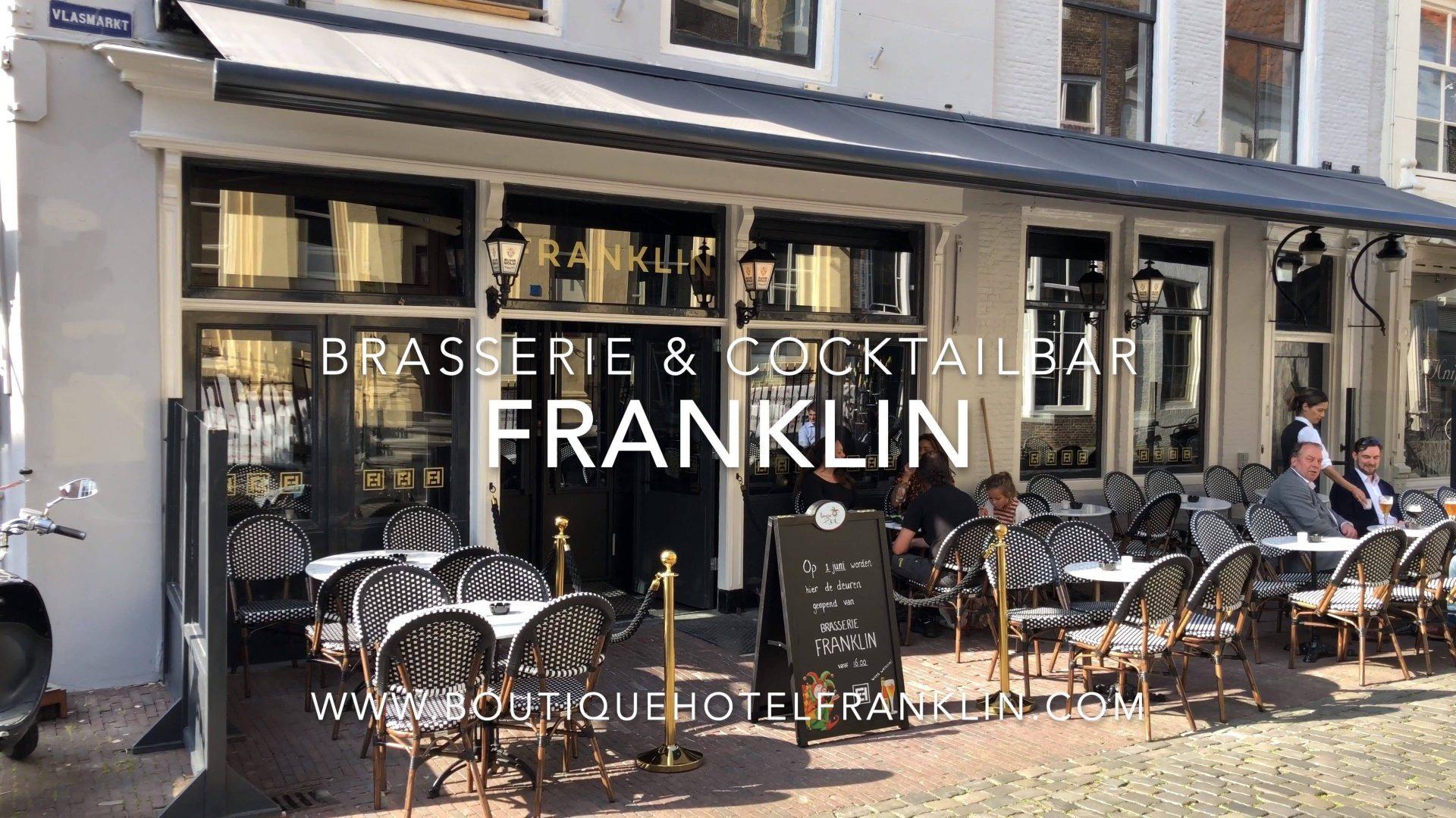 Afbeelding #000 voor het verhaal Brasserie & Cocktailbar Franklin vanaf vandaag geopend in Middelburg
