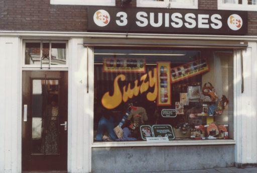 Afbeelding #000 voor het verhaal Breien en Haken: 3 Suisses in de Gravenstraat, 1976-1984