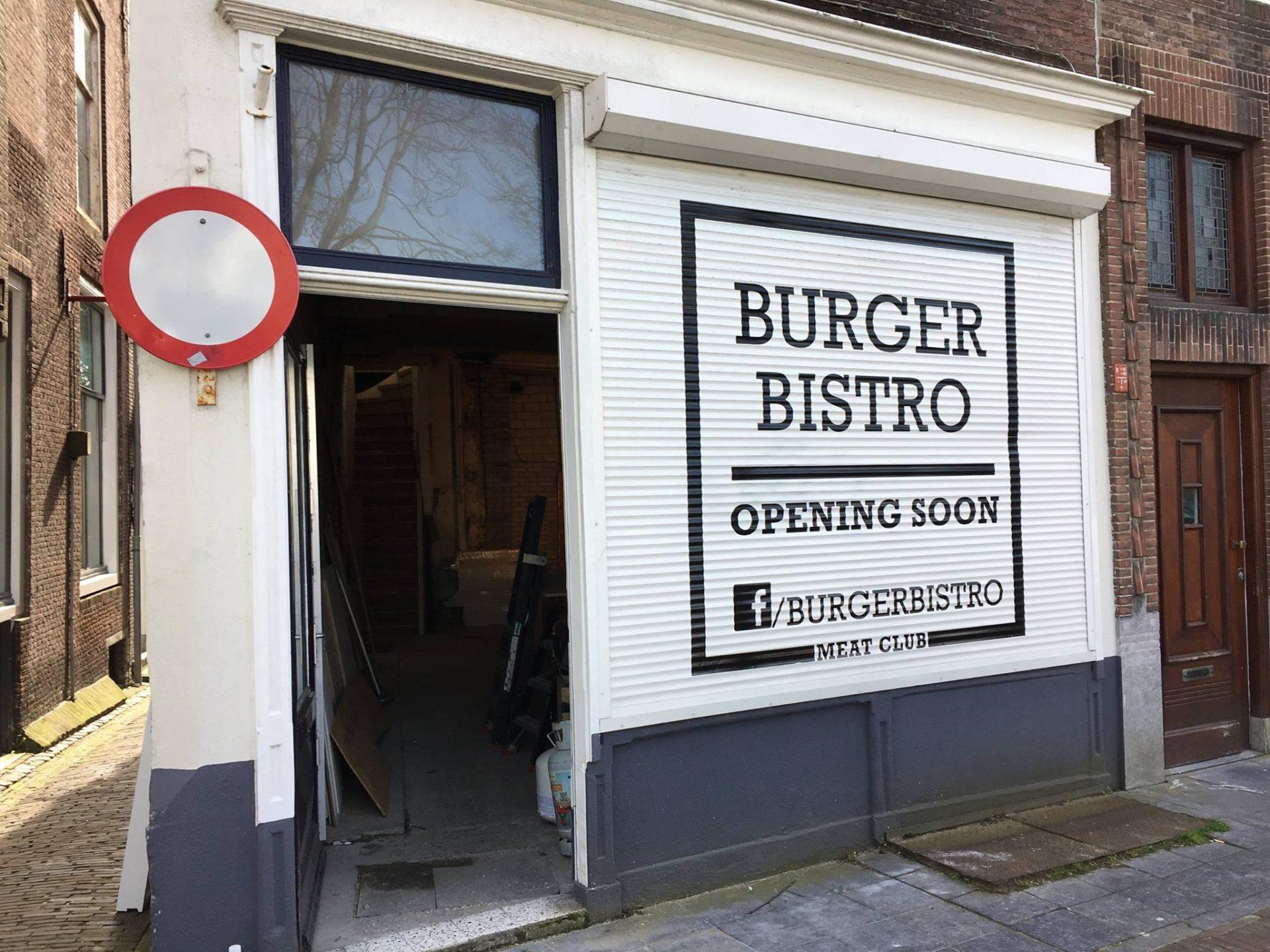 Afbeelding #000 voor het verhaal Burger Bistro opent binnenkort aan Damplein 44 in Middelburg