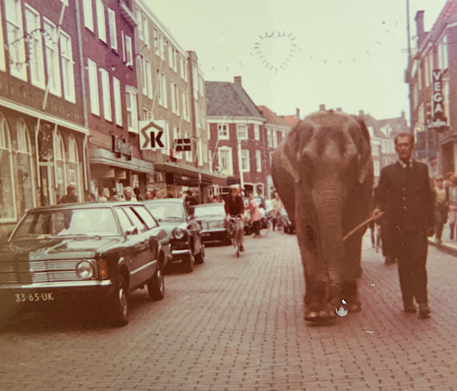 Afbeelding #000 voor het verhaal Circus Boltini in Middelburg, 1972