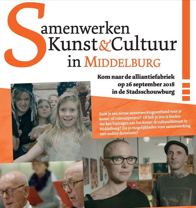 Afbeelding #000 voor het verhaal De Alliantiefabriek: ook voor Middelburgers die cultuurplannen hebben