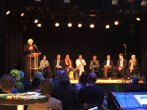 Afbeelding #001 voor het verhaal De binnenstad en ondernemen: een avondje Middelburgse politiek in De Spot