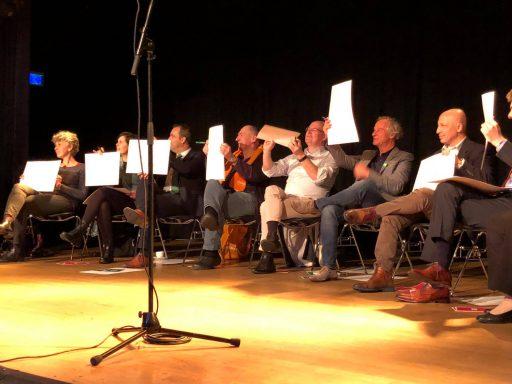 Afbeelding #005 voor het verhaal De binnenstad en ondernemen: een avondje Middelburgse politiek in De Spot