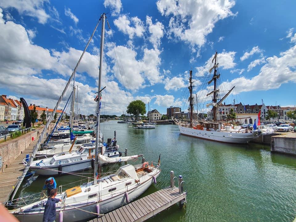 Afbeelding #001 voor het verhaal De godin van de liefde in de haven van Middelburg
